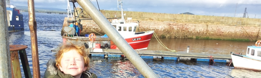 Harbour at Burghead